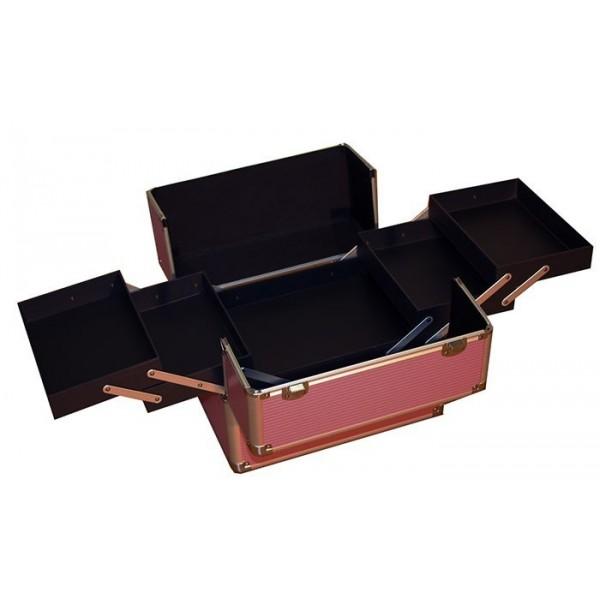 Beauty case PINK/SILVER
