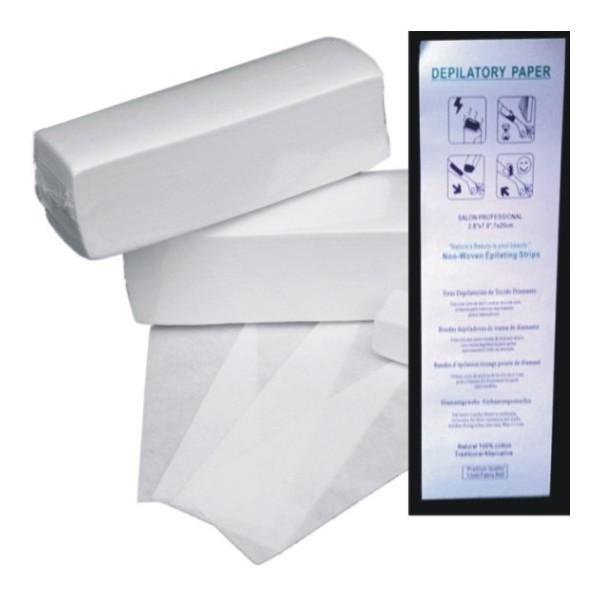 Depilatory cottons 100 pcs. (70*190mm)