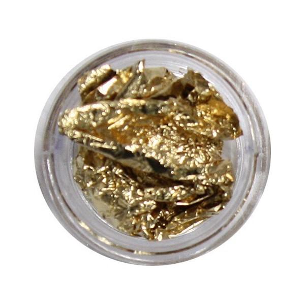 Silver gold leaf foil piece or set