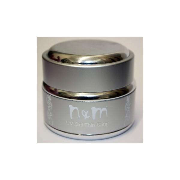 1 phase uv gel clear thin Διάφανο μεσαίας ρευστότητας 5ml/15ml/30ml