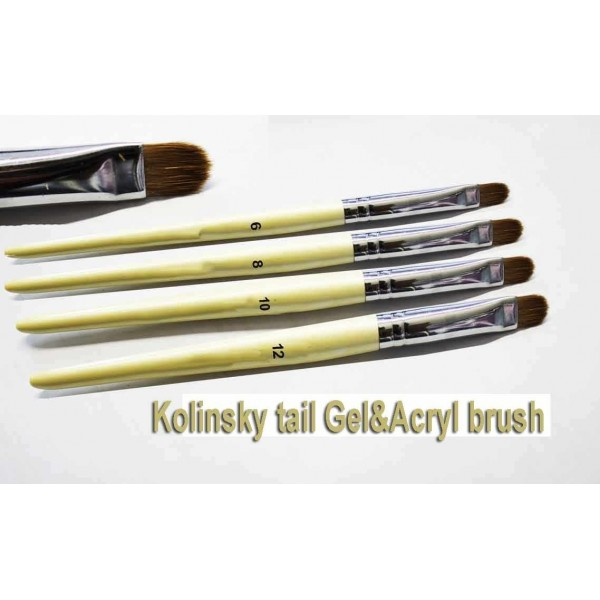 Kolinsky tail brush Gel