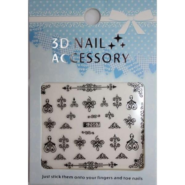 Nail sticker Z Line