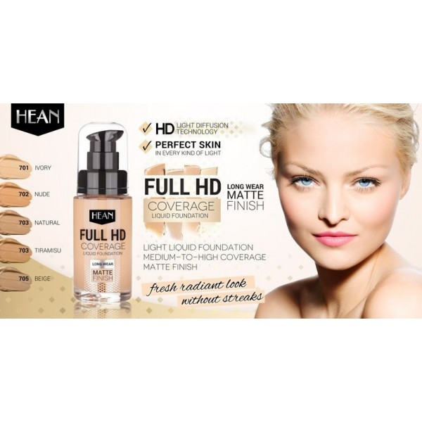 FULL HD COVERAGE FOUNDATION