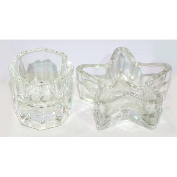 Glass basin for liquid