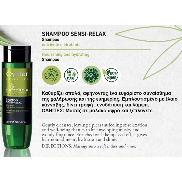 SHAMPOO SENSI - RELAX 250 ml