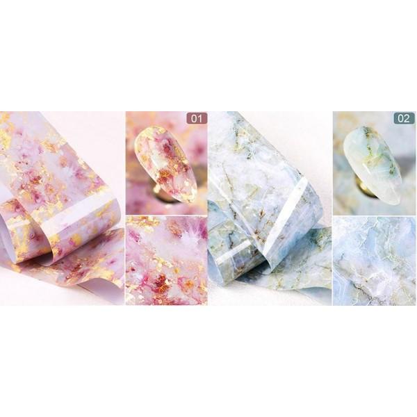marble foil