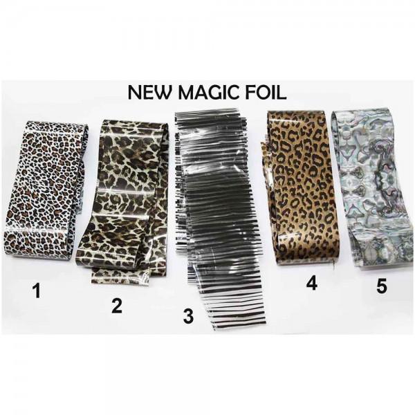 magic foil leop