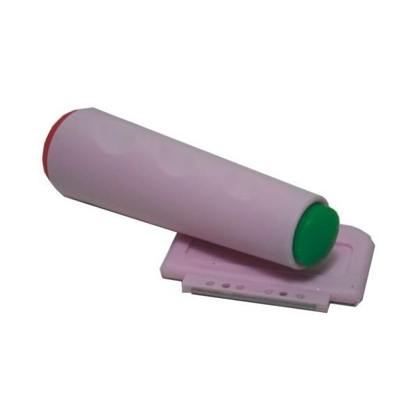 ΣΦΡΑΓΙΔΑ SET Σφραγίδα με 2 πλευρές και ενα ξυράφι πλαστικό
